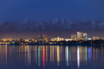 Day Trip Anchorage Winter Twilight Photo Tour near Anchorage, Alaska