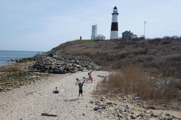 Day Trip Montauk and Shelter Island Overnight Bike Tour with Deluxe Hotel Stay near East Hampton, New York