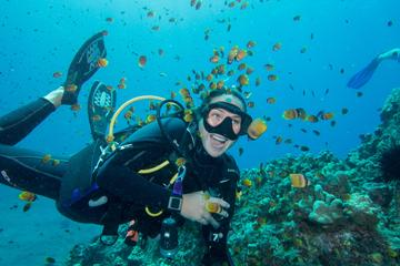 Aula introdutória de mergulho em Maui Scuba