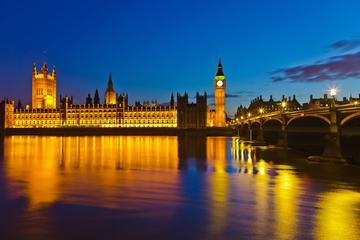Recorrido nocturno a pie por Londres...