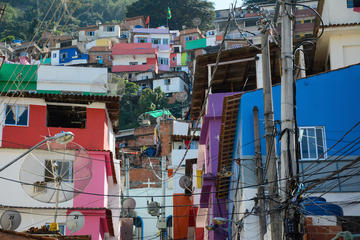 Privétour: De favela Santa Marta met een professionele fotograaf