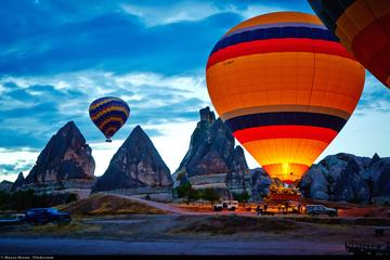 1 hora de voo de balão de ar quente...