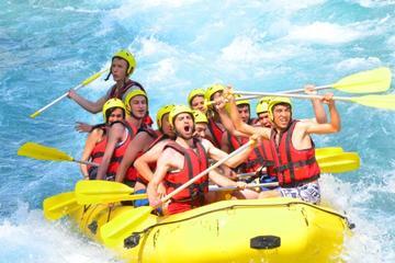 Canyoning- und Rafting-Touren ab Side