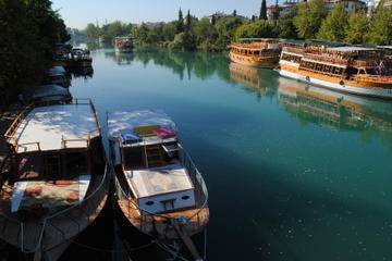 Manavgat River Cruise with Grand Bazaar from Alanya