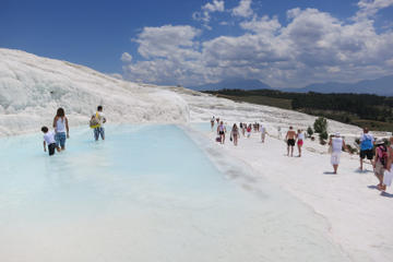 Pamukkale and Hierapolis 2-Day Tour from Belek