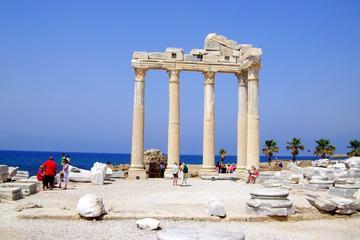 Tempel des Apollo, Aspendos und...