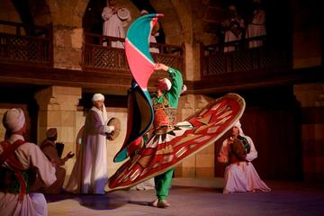 Discover Cairo: Cairo By Night Including the Best Sufi Tanoura Show in Egypt