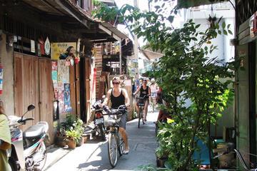 Experiencia en bicicleta del verdadero Bangkok