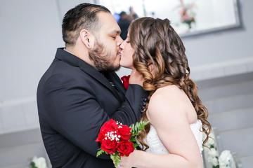 ラスベガスでの伝統的な結婚式