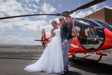 Cérémonie de mariage en hélicoptère au-dessus du Grand Canyon