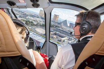 Cerimônia de casamento de helicóptero...
