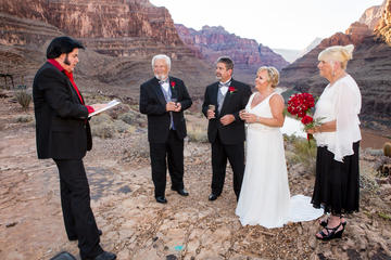 Hochzeit las vegas grand canyon