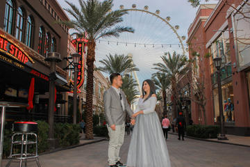 Las Vegas Wedding Ceremony On The High Roller 2018