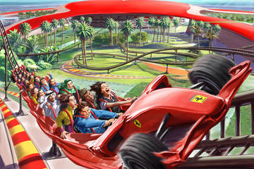 Ferrari World-inträde med transfer från Dubai