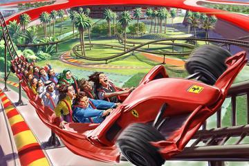 Ferrari World-inträde med transfer från Dubai