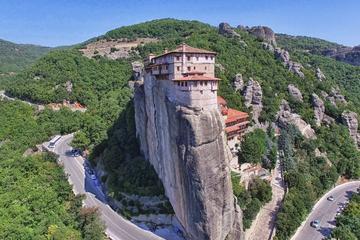 Excursion panoramique aux Météores et tous les monastères au départ...