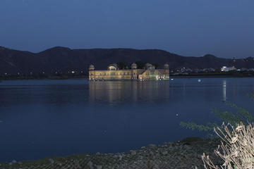 Evening Tour of Jaipur with Night View of  Jal Mahal followed by dinner