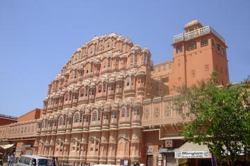 Jaipur Pink City Full-Day Tour including Lunch and Elephant Ride at...