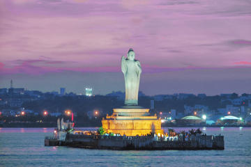 Private Tour: Evening Hyderabad City Tour including Boat Ride, Laser...
