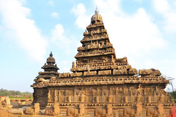 Private Tour: Mahabalipuram and Kanchipuram Caves and Temples Day...