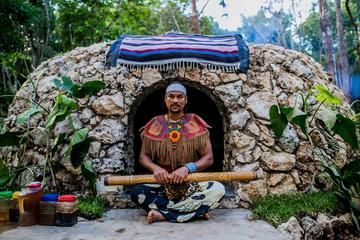 Excursion partagée ou privée pour un Temazcal, rite maya...