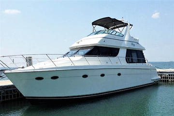 LUXURY PRIVATE YATCH TO ISLA MUJERES FREE TIME IN CANCUN AND ROUND TRANSPORTATION