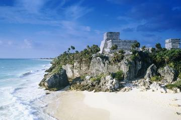 Private Coba, Tulum and Temazcal Combo Tour from Cancun