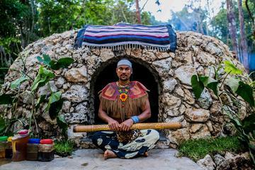 Private or Small-Group Temazcal Maya Ritual from Playa del Carmen