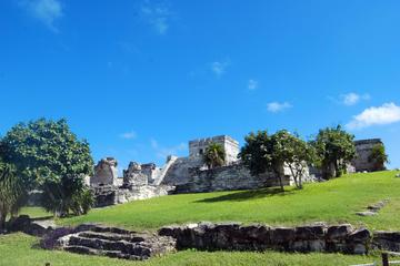 Tulum and Coba Full-Day Tour with Lunch, Cenote, Beach Sunset