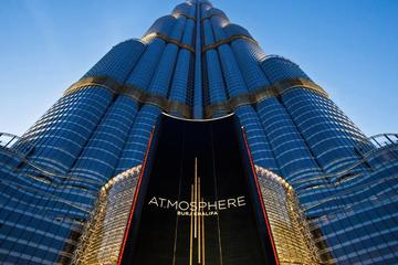 AtMosphere Lounge at 122nd floor of Burj Khalifa Tower with Private...