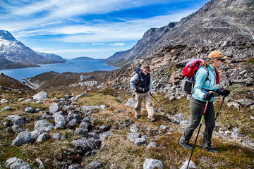 Back Country Hike from Kobber Fjord...