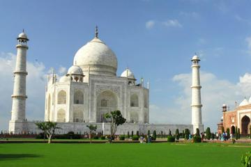 El Taj Mahal de Agra y lo más destacado con excursión privada de un...