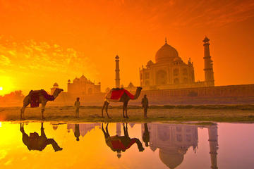 Sunrise Taj Mahal Tour from Jaipur by Car
