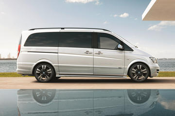 Private Departure Transfer by Luxury Van to Berlin Central Station