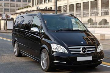 Privater Abfahrtstransfer im Luxus-Van vom Stadtzentrum in Düsseldorf