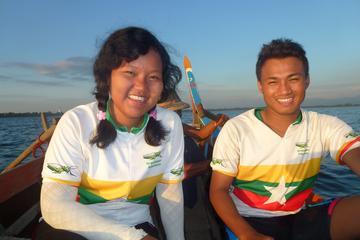 Excursion d'une journée à vélo avec le pont d'U Bein au coucher du...