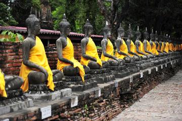 Excursão de dia inteiro por Ayutthaya de ônibus saindo de Bangcoc