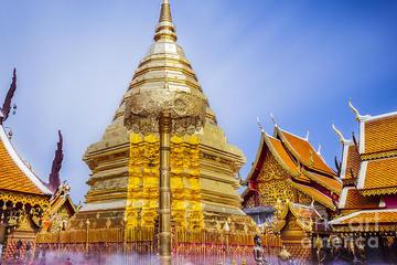Excursión de medio día a Doi Suthep y los templos desde Chiang Mai