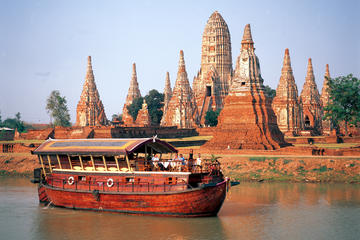 Full-Day Tour to Ayuthaya from Bangkok including Lunch Cruise Return...