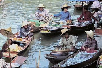 Halbtägige Tour nach Damneon Saduak ab Bangkok