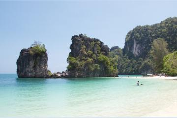 Island Safari Camp with James Bond Island Tour from Krabi