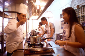 Thai Cooking Class at The Blue Elephant School in Phuket