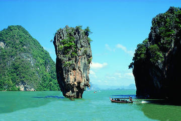 Visite touristique d'une journée à l'île Phang Nga Bay avec déjeuner...
