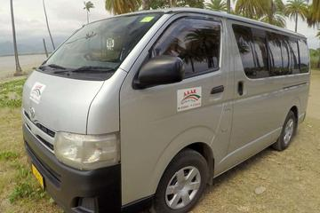 Private Transfer: Coral Coast to Nadi Airport - 13 to 15 Seat Vehicle
