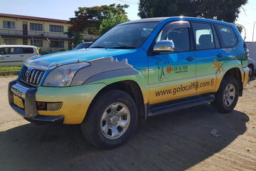 Private Transfer: Nadi Airport to Coral Coast - 1 to 4 Seat Vehicle