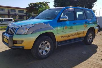 Private Transfer: Nadi Airport to Suva - 1 to 4 Seat Vehicle