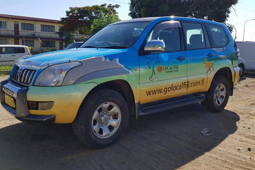 Private Transfer: Pacific Habour to Nadi Airport - 13 to 15 Seat Vehicle