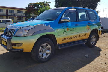 Private Transfer: Pacific Habour to Nadi Airport - 9 to 12 Seat Vehicle