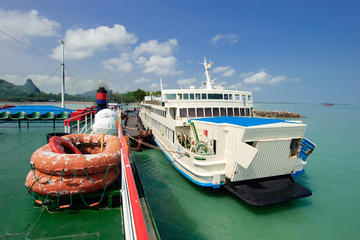 Koh Samui to Bangkok by Big Ferry and VIP Coach