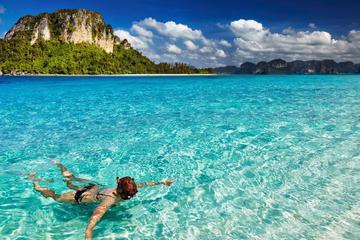 Mergulho com snorkel e excursão ao pôr do sol em Hong Island e nas...